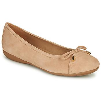 kengät Naiset Balleriinat Geox D ANNYTAH Pink