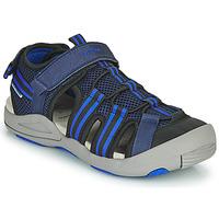 kengät Lapset Sandaalit ja avokkaat Geox JR SANDALE KYLE Sininen