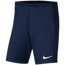 vaatteet Pojat Shortsit / Bermuda-shortsit Nike JR Park Iii Knit Tummansininen