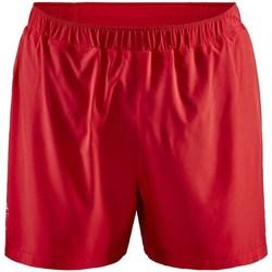 vaatteet Miehet Shortsit / Bermuda-shortsit Craft Adv Essence 5 Stretch Punainen
