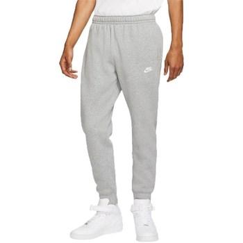 vaatteet Miehet Verryttelyhousut Nike Nsw Club Jogger Harmaat