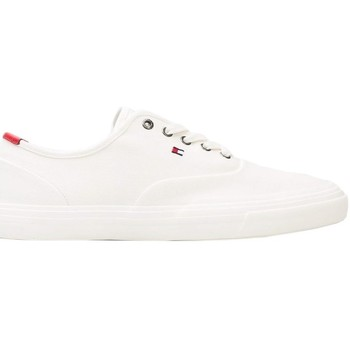 kengät Miehet Matalavartiset tennarit Tommy Hilfiger Core Oxford Valkoiset