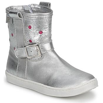 kengät Tytöt Bootsit Pinocchio  Hopea / FUCIA
