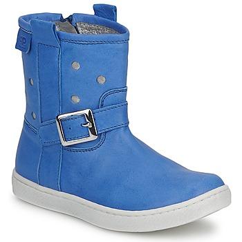 kengät Tytöt Bootsit Pinocchio RABIDA Blue