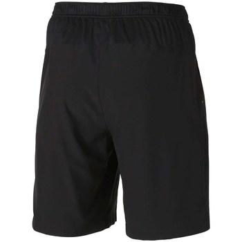 vaatteet Miehet Shortsit / Bermuda-shortsit Asics Club Woven Short 9INCH Mustat