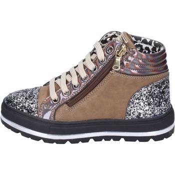 kengät Tytöt Tennarit Didiblu sneakers pelle sintetica glitter Marrone