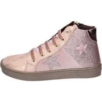 kengät Tytöt Tennarit Asso sneakers pelle sintetica glitter Rosa