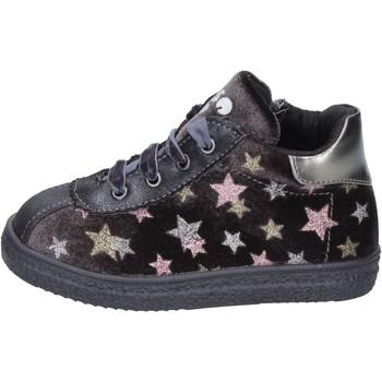 kengät Tytöt Tennarit Asso sneakers velluto pelle sintetica Grigio
