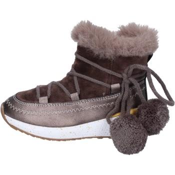 kengät Tytöt Nilkkurit Asso stivaletti tessuto pelle sintetica Beige