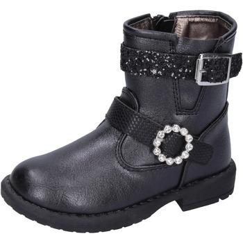 kengät Tytöt Nilkkurit Asso Nilkkasaappaat BK221 Musta