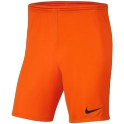 vaatteet Pojat Shortsit / Bermuda-shortsit Nike Dry Park Iii NB K Oranssin väriset