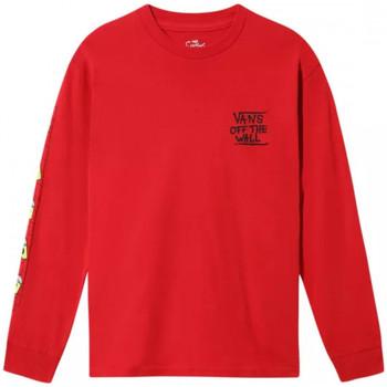 vaatteet Lapset T-paidat pitkillä hihoilla Vans x the simpso Monivärinen