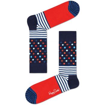 Asusteet / tarvikkeet Miehet Sukat Happy Socks Stripes and dots sock Monivärinen