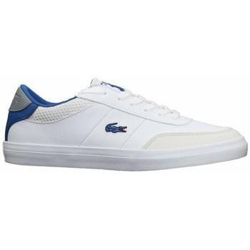 kengät Naiset Derby-kengät & Herrainkengät Lacoste Court Master 120 2 Cuj Valkoiset, Vaaleansiniset