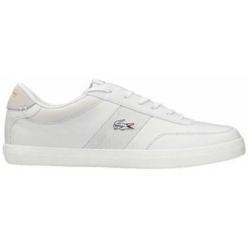 kengät Miehet Derby-kengät & Herrainkengät Lacoste Court Master 120 2 Cma Valkoiset