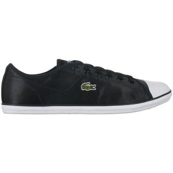 kengät Naiset Matalavartiset tennarit Lacoste Ziane Sneaker 118 2 Caw Valkoiset, Mustat