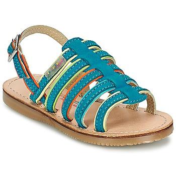 kengät Tytöt Sandaalit ja avokkaat Les Tropéziennes par M Belarbi MISS Blue