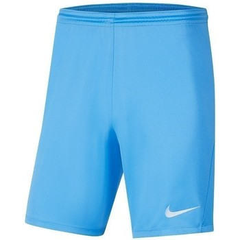 vaatteet Pojat Shortsit / Bermuda-shortsit Nike JR Park Iii Knit Vaaleansiniset