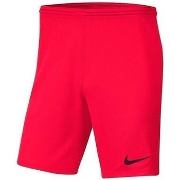 vaatteet Pojat Shortsit / Bermuda-shortsit Nike JR Park Iii Knit Punainen