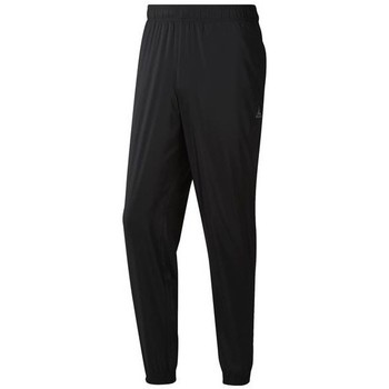 vaatteet Miehet Housut Reebok Sport TE Woven C Lined Pant Mustat