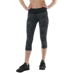 vaatteet Naiset Housut Asics 34 Fuzex Knee Tight Mustat