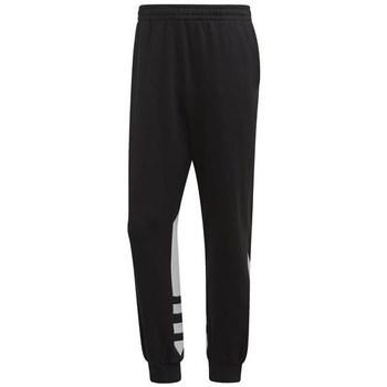 vaatteet Miehet Housut adidas Originals BG Trefoil Pant Mustat