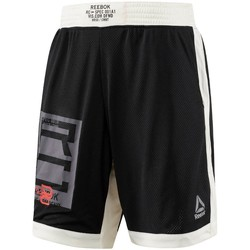 vaatteet Miehet Caprihousut Reebok Sport Combat Boxing Valkoiset, Mustat
