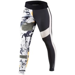 vaatteet Naiset Housut Reebok Sport Elite Tight Valkoiset, Mustat, Harmaat