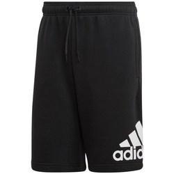 vaatteet Miehet Shortsit / Bermuda-shortsit adidas Originals MH Bos FT Short Mustat