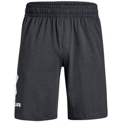 vaatteet Miehet Caprihousut Under Armour Sportstyle Cotton Graphic Short Grafiitin väriset
