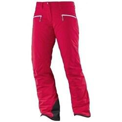 vaatteet Naiset Housut Salomon Whitecliff Gtx W Punainen