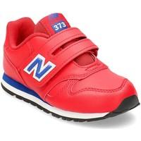 kengät Lapset Matalavartiset tennarit New Balance 373 Punainen