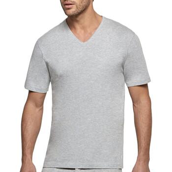 vaatteet Miehet Lyhythihainen t-paita Impetus 1360002 507 Harmaa