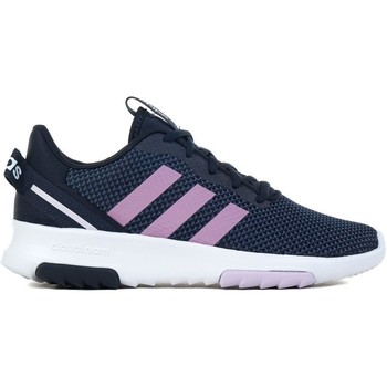 kengät Lapset Matalavartiset tennarit adidas Originals Racer TR 20 K Valkoiset, Tummansininen, Vaaleanpunaiset