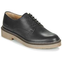 kengät Naiset Derby-kengät Kickers OXFORK Musta