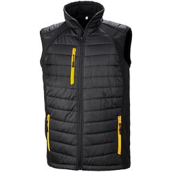 vaatteet Miehet Takit Result R238X Black/Yellow