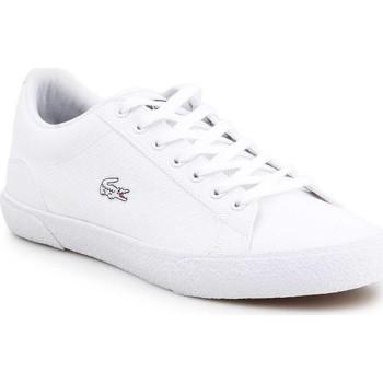 kengät Miehet Matalavartiset tennarit Lacoste Lerond 7-38CMA005621G white