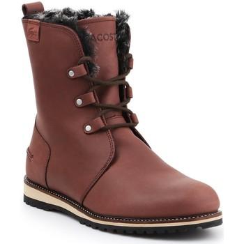 kengät Naiset Bootsit Lacoste Baylen 7-30SRW4100078 brown