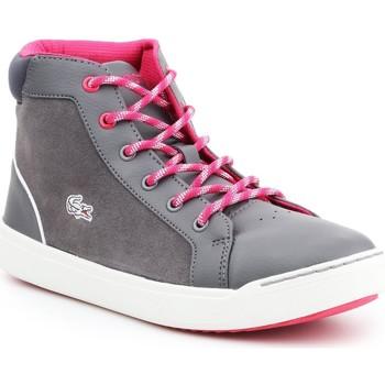 kengät Naiset Korkeavartiset tennarit Lacoste Explorateur MID 7-32CAJ1001248 grey, pink