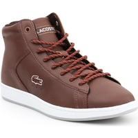 kengät Naiset Korkeavartiset tennarit Lacoste Carnaby EVO 7-30SPW411377T brown