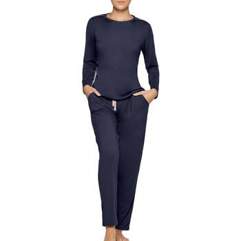 vaatteet Naiset pyjamat / yöpaidat Impetus Travel Woman 8500F84 F86 Sininen