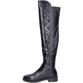 kengät Naiset Saappaat Elvio Zanon Saappaat BK374 Musta