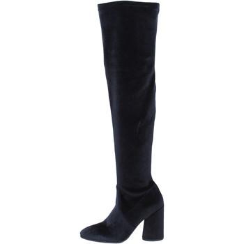 kengät Naiset Saappaat Elvio Zanon Saappaat BK376 Musta