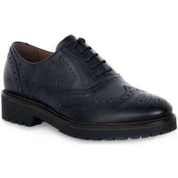 kengät Naiset Derby-kengät NeroGiardini NERO GIARDINI  100 GUANTO NERO Nero