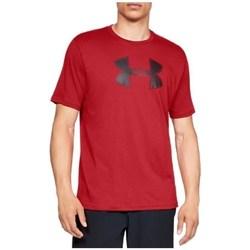 vaatteet Miehet Lyhythihainen t-paita Under Armour Big Logo SS Tee Punainen
