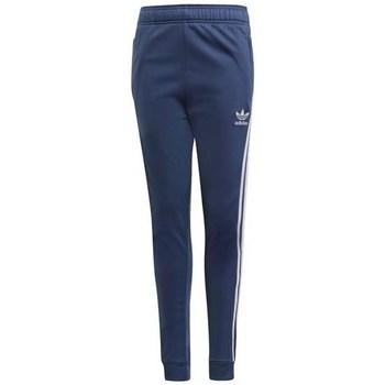 vaatteet Lapset Verryttelyhousut adidas Originals Sst Pants Tummansininen