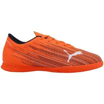 kengät Lapset Jalkapallokengät Puma JR Ultra 41 IT Oranssin väriset