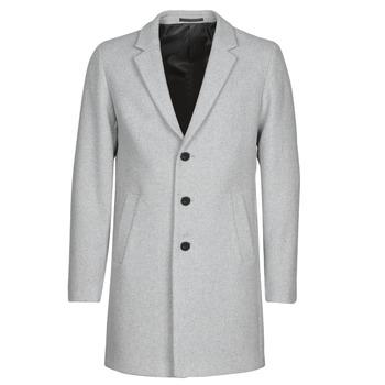 vaatteet Miehet Paksu takki Jack & Jones JJEMOULDER Grey