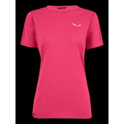 vaatteet Naiset Lyhythihainen t-paita Salewa Pedroc 3 DRY W S/S TEE 27726-6385 pink