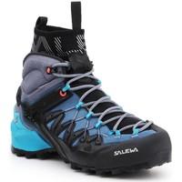 kengät Naiset Vaelluskengät Salewa WS Wildfire Edge MID GTX 61351-8975 navy , grey, black